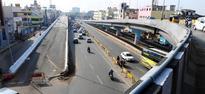 Anna Nagar flyover bracing for finish