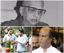 Rajinikanth, Sivakumar, Suriya, Karthi pay homage to late Journalist-actor Cho Ramaswamy