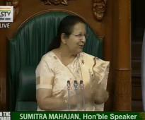 Women's Day: This lovely message from Lok Sabha speaker Sumitra Mahajan is a must read