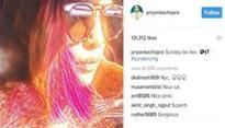 Baywatch star Priyanka Chopra shared her Sunday on Instagram