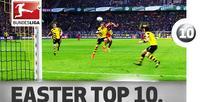 Pizarro, Lewandowski, Raul & Co.  Top 10 Easter Eggs