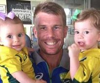 David Warner is the 'Sports dad of the year'