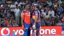 Watch: When CSK old boys MS Dhoni and Dwaye Bravo 'clashed' on the field