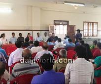 Mangaluru: Angry residents of Kankanady-Valencia ward anxiously wait for council meeting