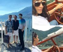 PIC: Asin and hubby vacation with Akshay Kumar - Twinkle Khanna