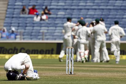 ICC match referee gives poor rating to Pune pitch