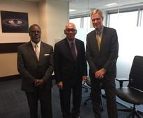 Minister Gibbons Visits NASA Headquarters