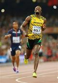 The gift of gold: Bolt wins again, with help from the US