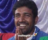 Dr Ravi Verma for Pawan Kalyan, stunt director in action