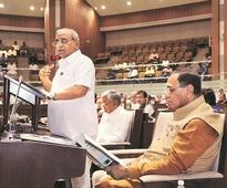 Post elections, Nitin Patel announces farm, youth friendly Gujarat budget