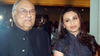 Rani Mukherjee's father, filmmaker Ram Mukherjee dies aged 84