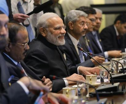 Fighting terrorism topmost priority: PM in joint statement