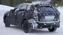 Volvo XC60 spied during testing; resembles a smaller XC90