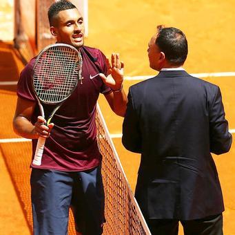 Madrid Open: Kyrgios knocks Wawrinka out; Djokovic advances