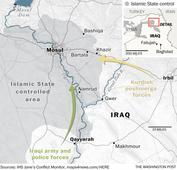 Iraqi forces push toward Mosul, face fierce resistance at times from ISIS