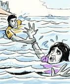 Woman jumps into Hooghly