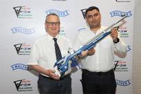 Walther to support Gagan Narang's Vision 2024