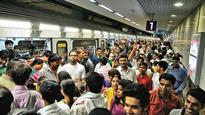 Metro fare hike: RWAs take to the streets, demand rollback of decision