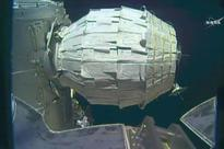 Prototype space station module inflated on Nasa's second try