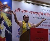 Rajiv Gandhi supported Ram Rajya, says Subramanian Swamy at DU
