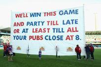 HAHAHA! Bulldogs Grand Final Banner ...