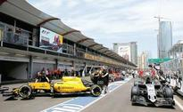 Drivers' concerns about pit lane entry