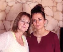 Young mum's terror after routine test revealed she suffered stroke in her EYE