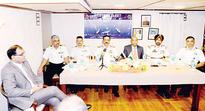 Three Indian naval ships on 4-day goodwill visit dock at Shuwaikh Port  Navies cement friendship between countries: Rear Admiral Singh