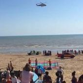 Five dead and one missing after being pulled from the sea at Camber Sands on hottest day of the year