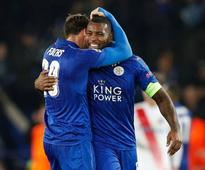 Leicester cruise into Champions League last 16