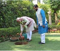 Maharashtra: RSS chief Mohan Bhagwat leads drive to plant 2 crore saplings