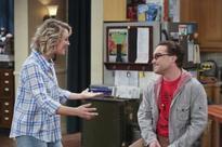 Kaley Cuoco shares image with Johnny Galecki from sets of The Big Bang Theory season 10