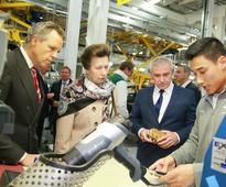 Princess Anna opens new Bentley research centre
