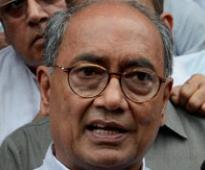 Why Modi does not mention his wife's name: Digvijay