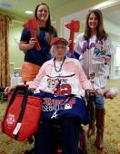 Senior receives special Braves wish
