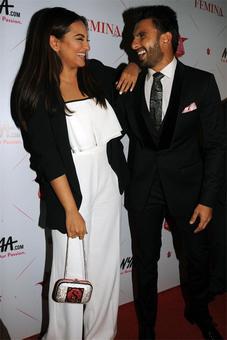 PIX: Sonakshi, Ranveer mingle at Femina awards