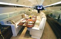 Billionaires, Celebrities and Even the President Elect Seek Out International Jet Interiors for Their Luxuriously Smart Approach to Private Jet Completions January 18, 2017Thursday, January 19, 2017 at 10:30 PM ET/PT on CNBC's TRUMP: THE BILLIONAIRE PRESI