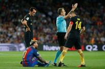 Messi out for three weeks as Barcelona draw Atletico (AFP)
