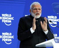A stable, transparent and progressive India is good news: PM Modi in Davos