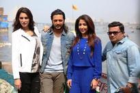 Genelia DSouza surprised Riteish Deshmukh and Krishika Lulla on the sets of 'Banjo'