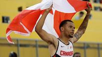 De Grasse voted Canadian Press male athlete of the year