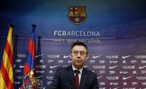 Barca chief slams rules over transfer ban