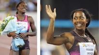 Harper-Nelson, Fraser-Pryce dazzle; Montsho stuns Felix