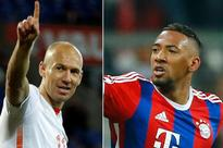 Robben and Boateng back in Bayern squad