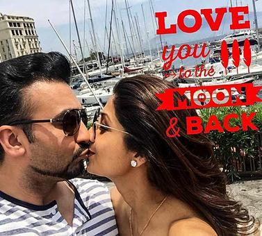 Shilpa-Raj, Bipasha-Karan's Valentine's Day pictures!