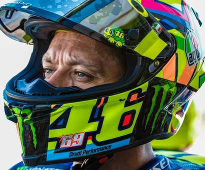 Aragon GP: Heroic Rossi finishes fifth with broken leg