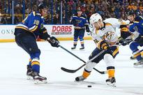 Viktor Arvidsson beats Jay Bouwmeester for gorgeous goal (Video) (Yahoo Sports)