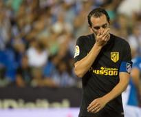 La Liga: Atletico Madrid defender Diego Godin slapped with three-match ban for over-protesting