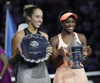 US Open 2017: Sloane Stephens says she wishes final could have been a draw after win over Madison Keys