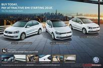 VW Ameo, Polo, Vento Crest Edition  Buy today, Pay EMI in 2018